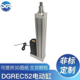 交流伺服电动缸,低成本电推杆,高精度线性执行器
