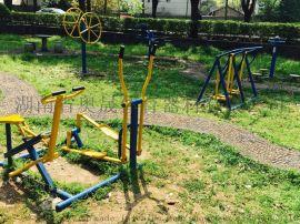 长沙地区奥晟体育室外健身路径建设