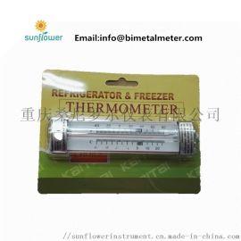 家用厨房低温冷藏玻璃冰箱冰柜悬挂温度计外贸出口