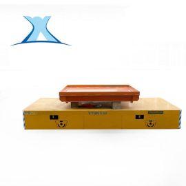 10t蓄电池无轨遥控平板车工程机械运输电动无轨平车