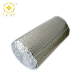 苏州厂家定制双面铝箔气泡膜 反射性纳米气囊屋顶隔热材料阻燃