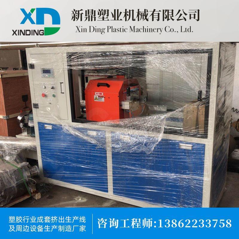 pe生產線pe管材生產線pvc塑料管ppr擠出生產線環保一齣二設備