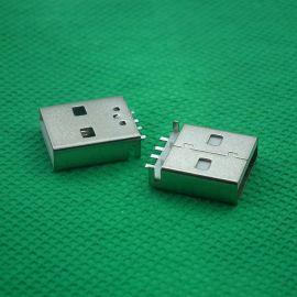 厂价直销14MM超短体A公沉板短体贴片SMT L=14.02.0**USB连接器
