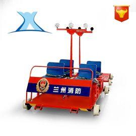 厂家直销轨检车轨道平板车车轮高铁检修车导轨检测运输车