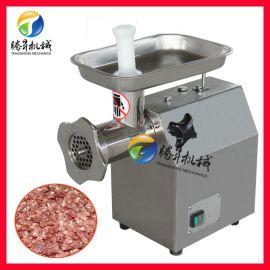 多功能商用绞肉机 铜芯电机台式绞肉机 猪肉绞碎机