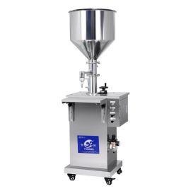 厂家定制立式膏霜液体灌装机 化妆品定量灌装机 食品灌装机 包邮
