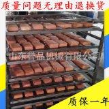 湖南香豆干蒸煮烟熏烘干上色多功能一体烟熏炉可定做 豆干烟熏炉