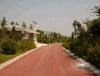 贵州地坪材料生产厂家 彩色生态透水道路原料 艺术道路施工工艺