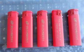 神龙128红色喷胶打火机广告礼品打火机