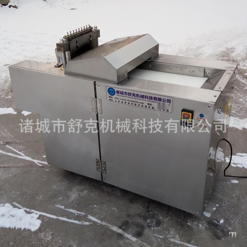 专业厂家生产销售全自动履带式切肝机器 自动鹅肝切片机 肉丁设备