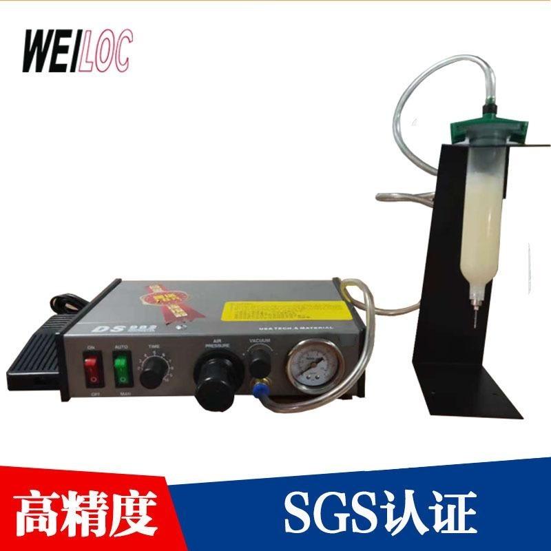 wyn982半自动点胶机 热熔胶锡膏手动点胶机 脚踏手持滴胶机控制器