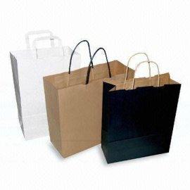 厂家定制纸袋 牛皮纸购物纸袋 手提环保纸袋