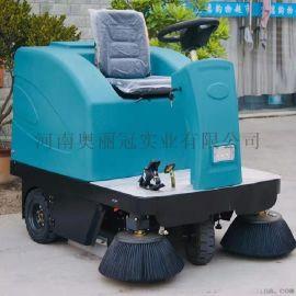 驾驶式工业扫地机 小区物业清扫车
