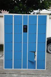供应深圳智能储物柜一台起批超市电子寄存柜存包柜学生员工储物柜