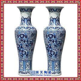 定制手绘花瓶 瓷器大花瓶 **陶瓷大花瓶 新年商务礼品