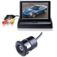 4.3寸自动折叠翻盖显示器 可视倒车 18.5mm钻   头