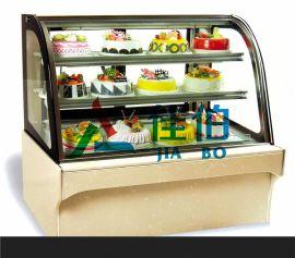 蛋糕柜欧式蛋糕柜后开门蛋糕冷藏展示柜定做1.2/1.5/1.8米西点柜