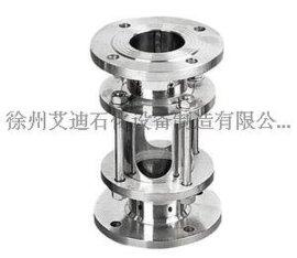 江苏徐州视镜专业不锈钢316L+钢化玻璃材质视盅视镜