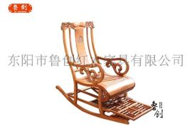 牡丹摇椅定做红木家具图、红木家具市场、定做明清家具价格