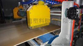 PVC免漆板生产线,木塑家具板生产线