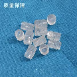 供应塑胶一字无头螺丝,尼龙PC螺丝,M3,M4,M5,M6螺丝,机米