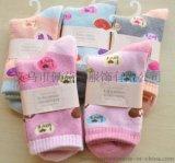 秋冬季新款特价爱心款女士毛巾袜子加厚毛圈袜拉毛袜保暖棉袜