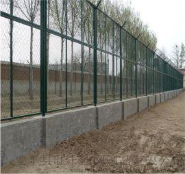 监狱Y型安全防护网 巡逻道护栏网 防攀爬钢丝隔离网