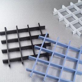 广东铝图 厂家直销 氟碳喷涂 铝格栅 铝制天花