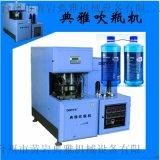 PET半自動吹瓶機 制瓶容量10ml-2.5L 功率16kw