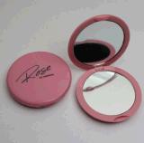 廠家供應圓形雙面鏡化妝鏡 放大鏡 塑料鏡子,摺疊鏡子 攜帶