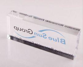 济南水晶镇纸定做济南水晶摆件 (005)