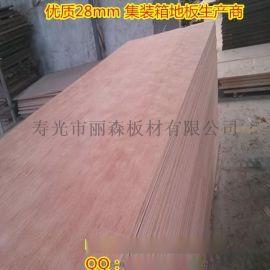 28釐集裝箱地板用膠合板