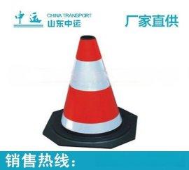 濟寧廠家批量銷售橡方型路錐  圓型路錐   參數報價