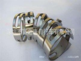 自行车山地车座管钛合金螺丝锁座管夹座杆夹座管箍