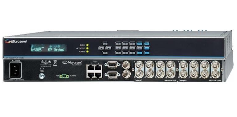 美高森美Microsemi SyncServer S650 GPS网络时间协议服务器/NTP时间服务器/同步时钟