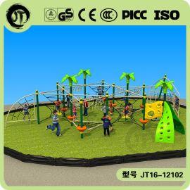 广州江泰新款儿童户外拓展综合训练 攀爬架 大型儿童游乐设备 公园社区健身器材室外游艺设备
