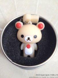 卡通USB, 小熊u盘, 创意礼品个性USB定做