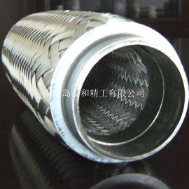 16949认证内外编织网汽车排气管挠性节
