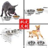 廠家定制寵物碗架 亞克力寵物餐桌亞克力狗碗架透明貓碗架亞克力