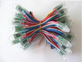 LED穿孔灯串, LED外露灯