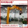 立柱式悬臂起重机 1t移动式电动旋臂小吊机厂家 电葫芦摇摆臂吊