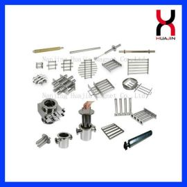 注塑机干燥机强钕铁硼磁力架 多管磁力架定做