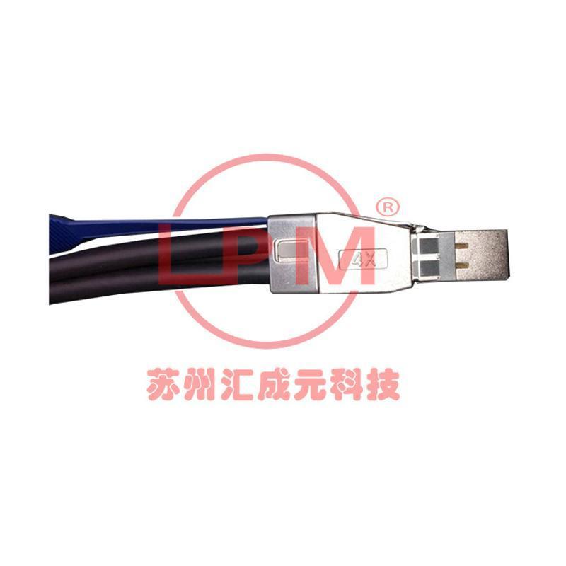 苏州汇成元电子供应SFF-8644 系列 Mini SAS 3.0 12Gbps 线缆组件