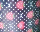 草莓印花无纺布