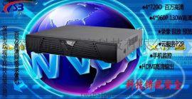 4路NVR 网络 硬盘录像机1080p监控存储设备