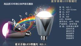 智能蓝牙音箱LED灯