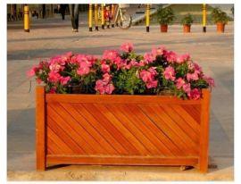 实木花盆  户外木制组合花箱型号KT-A135