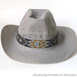 串珠帽箍 珠绣帽箍 米珠编织帽箍 帽沿串珠装饰品