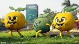 供应厂家直销 可爱萌物雕塑 水果的创意搭配 萌物卡通