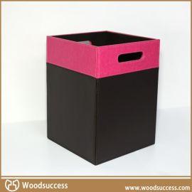 环保的木制家用垃圾桶